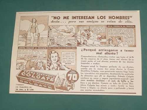 publicidad- colgate crema dentifrica limpieza perfecta