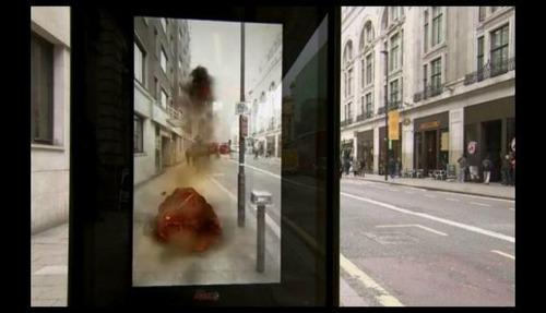 publicidad display holograma lo ultimo en tecnologia !!