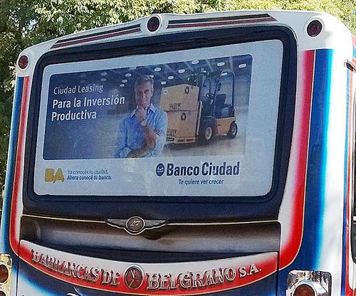 publicidad en colectivos, vía pública, caba/gba/interior