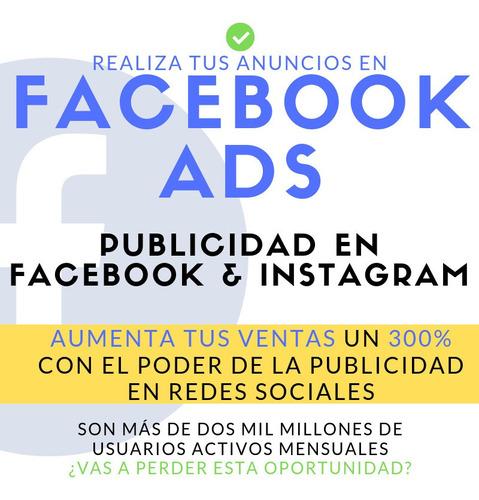 publicidad en facebook e instagram | facebook ads