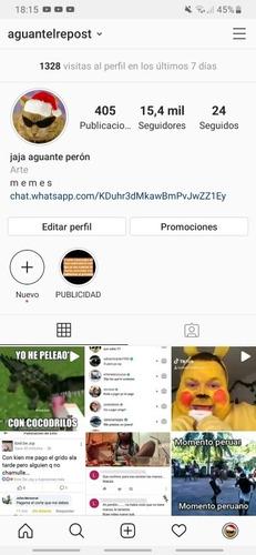 publicidad en instagram a solo 100$ pesos argentinos