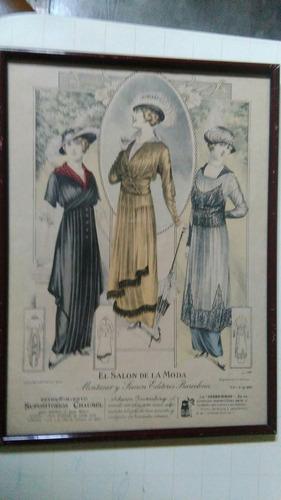 publicidad grabado el salon de la moda 1903