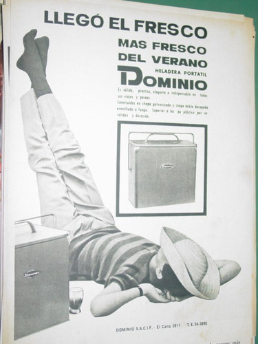 publicidad heladera portatil dominio verano mas fresco
