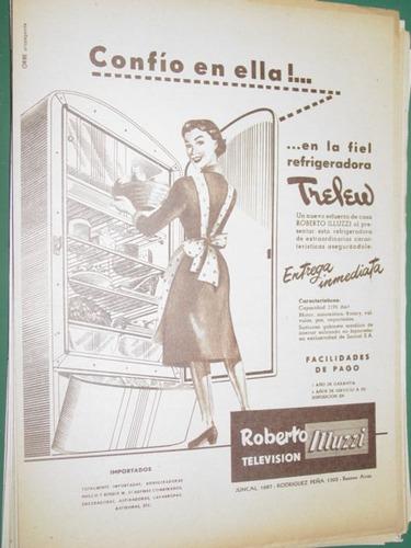 publicidad heladeras refrigeradora trelew roberto muzzi