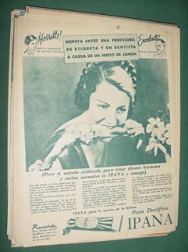 publicidad ipana pasta dentifrica la sonrisa de la belleza
