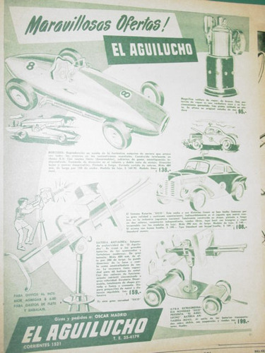 publicidad juego juguetes casa el aguilucho oscar madrid mo7