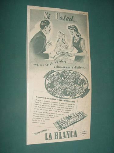 publicidad - la blanca panceta ahumada marca de pureza
