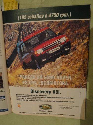 publicidad land rover discovery año 1997