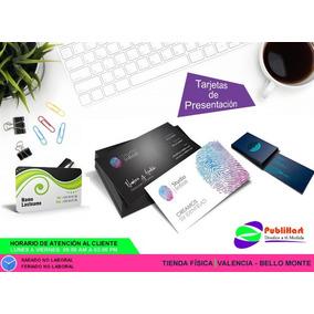 5d93b9315b66a 100 Tarjetas De Presentacion Full - Publicidad y Mercadeo en Mercado Libre  Venezuela