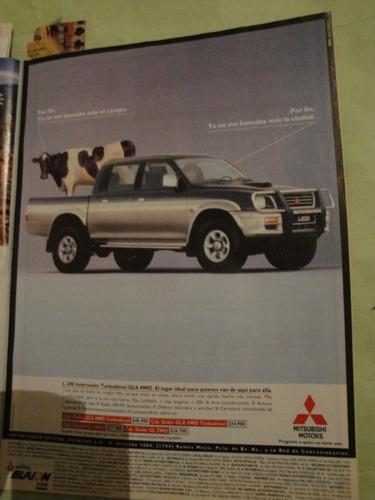 publicidad mitsubishi l 200 año 1997