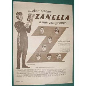 Publicidad Motociclismo Armando Darminio Motos Zanella