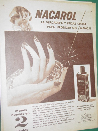 publicidad nacarol frasco verdadera y eficaz crema mod3