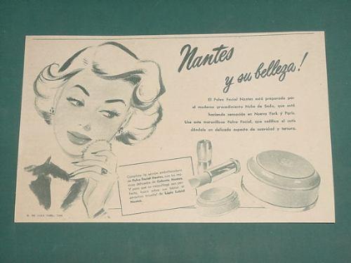 publicidad- nantes polvo facial nube de seda labial