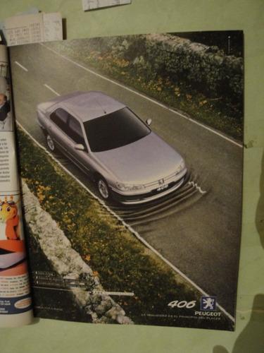 publicidad peugeot 406 año 1998