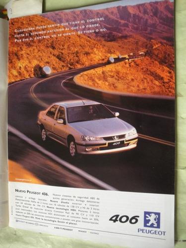 publicidad peugeot 406 año 1999