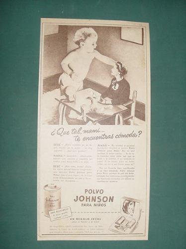 publicidad- polvo johnson para niños tarro grande economico