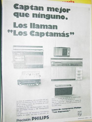 publicidad radio receptores philips los captamas