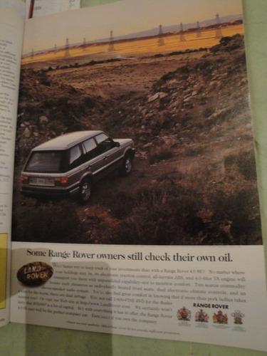 publicidad ranger rover año 1996