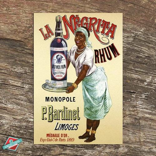 publicidad retro vintage -  la negrita rhum