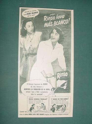 publicidad- rinso jabon para lavar granulado mas blanco