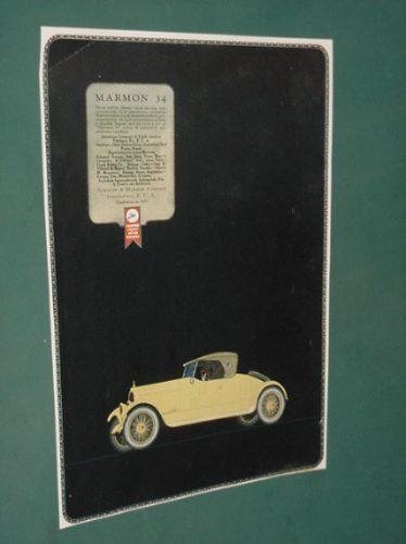publicidad rural 1920 automoviles marmon nordyke company