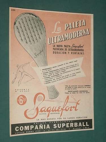 publicidad - saquefort paleta ultramoderna patentada dura