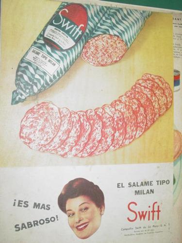 publicidad swift salame tipo milan es mas sabroso
