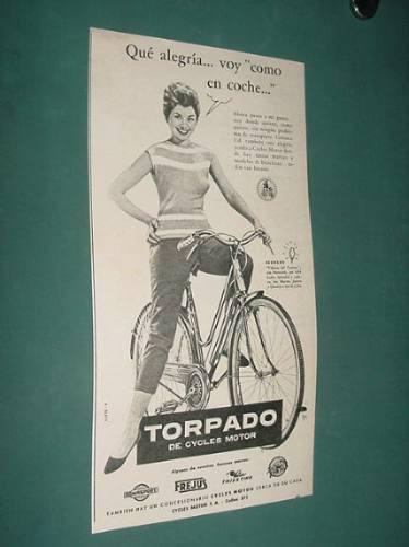 publicidad- torpado de cycles motor voy como en coche