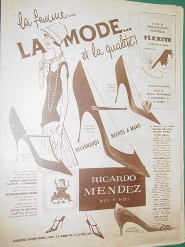 publicidad zapatos ricardo mendez la femme la mode