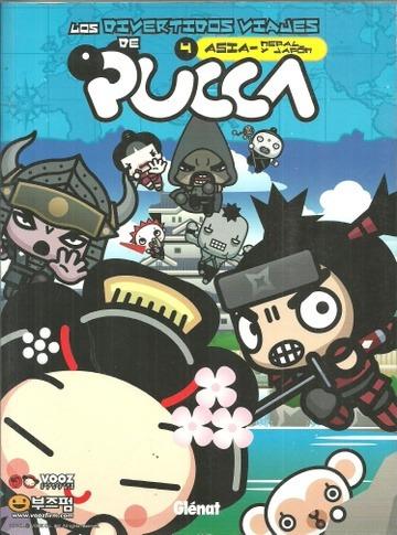 pucca 4 asia nepal y japon de glenat la revisteria-comics