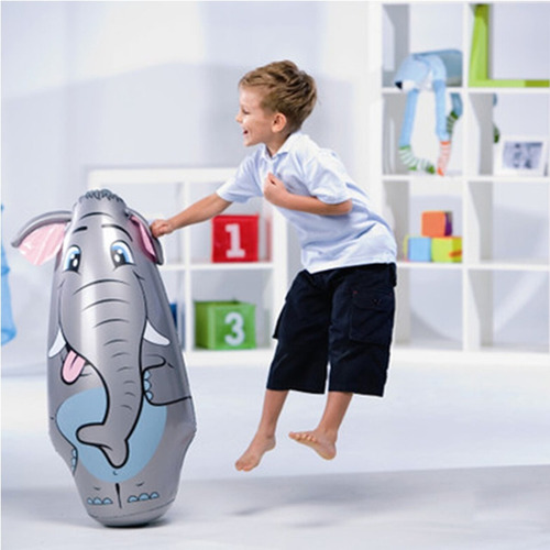 puching bag punch pop inflable involcable bestway babymovil