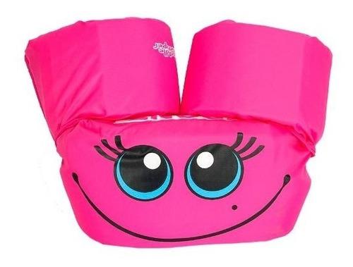 puddle jumper basico rosa flotador chaleco niña coleman
