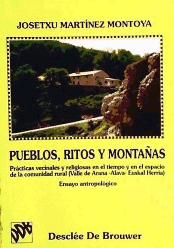 pueblos, ritos y montañas(libro )