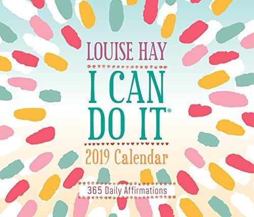 Calendario 365.Puedo Hacerlo 2019 Calendario 365 Afirmaciones Diarias
