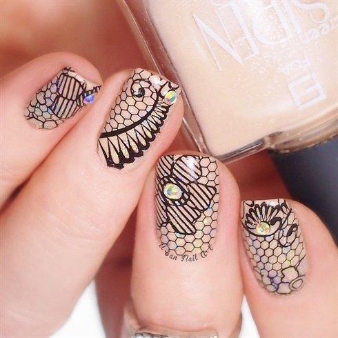 pueen 2015 nail art stamping plate colección celebration -