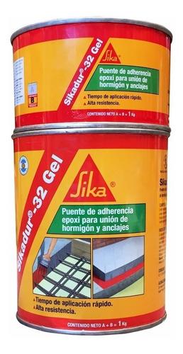 puente de adherencia para hormigón sikadur 32 gel x 1 kg