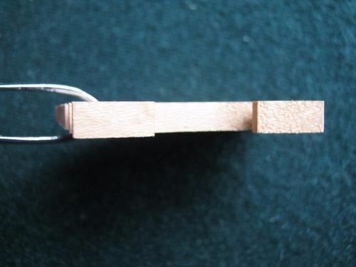 puente de violín de arce 4/4 3 unidades