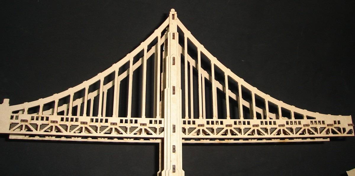Puente Golden Gate Rompecabezas Mdf Gmem03 240 00 En