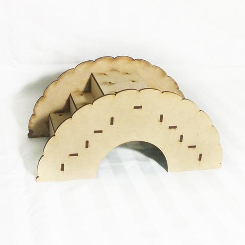 puente porta chupetines (p/24 chupetines) desarmado  cb-005d