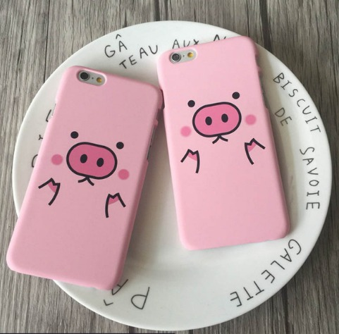 Puerquito Iphone 7 Funda Carcasa Cerdito Kawaii Cute Cerdo