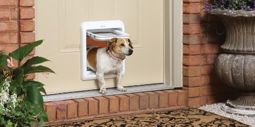 puerta abatible talla m perros y gatos pethome