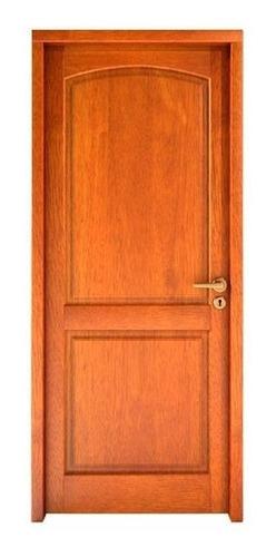 puerta algarrobo madera con herrajes