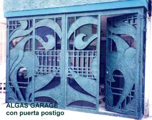 Puerta algas de herreria rustica fina metro cuadrado - Cerramientos de aluminio precio por metro cuadrado ...