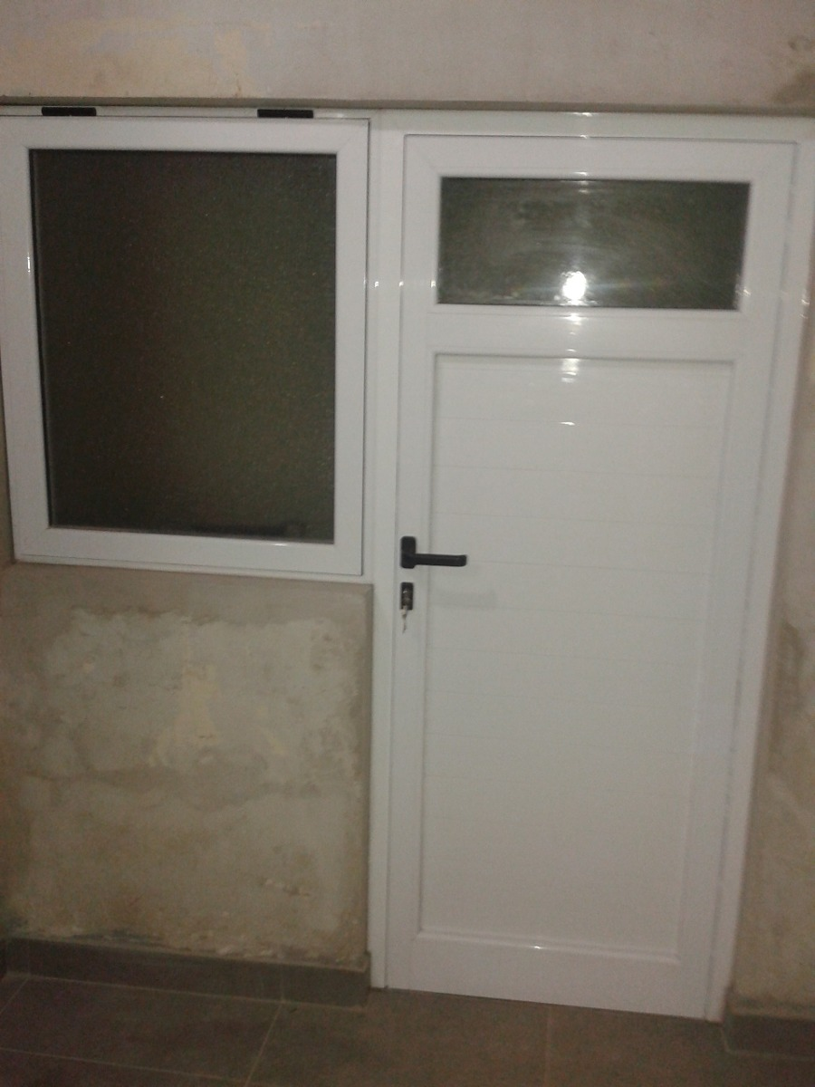 Puerta De Aluminio M Dena Exterior Interior Don Aberturas  ~ Puertas De Exterior De Aluminio Precios
