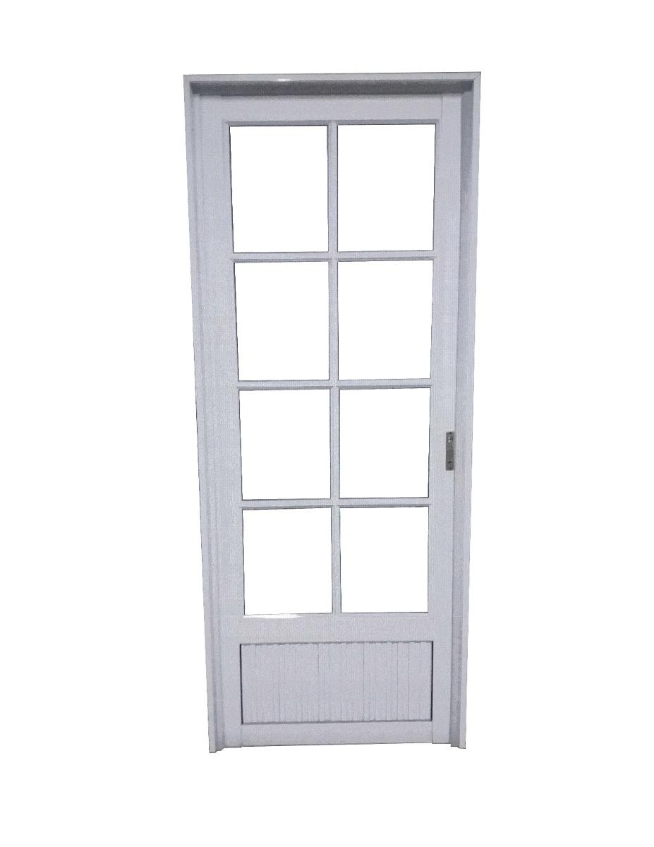 Puerta de aluminio exterior gallery of puerta exterior - Modelo de puertas de aluminio ...