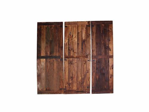 Puerta antigua de madera 11 en mercado libre - Puerta madera antigua ...