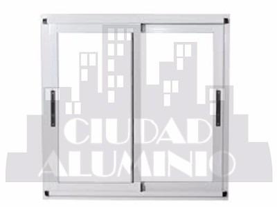 puerta balcon aluminio linea modena 200x200 vidrio 4 mm