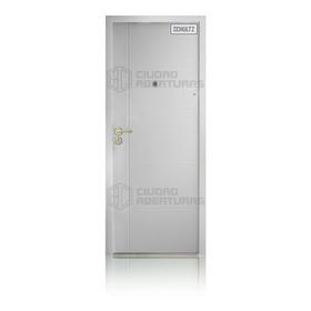 Puerta Blindada Schultz 48kg- 2 Años Gtía- Tono Blanco- Dcha