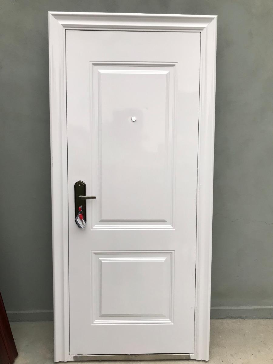 Puerta Blindada * Seguridad* Hoja 80cm Marco 90cm T-sur - $ 12.760 ...