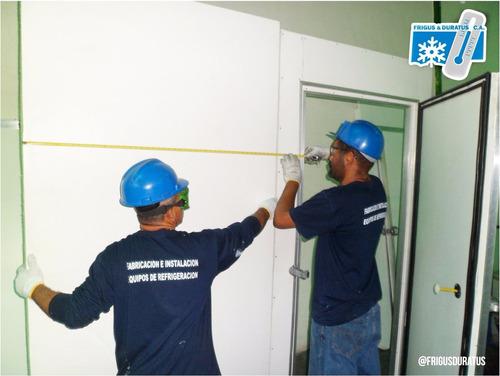 puerta cava cuarto refrigeración fabricación